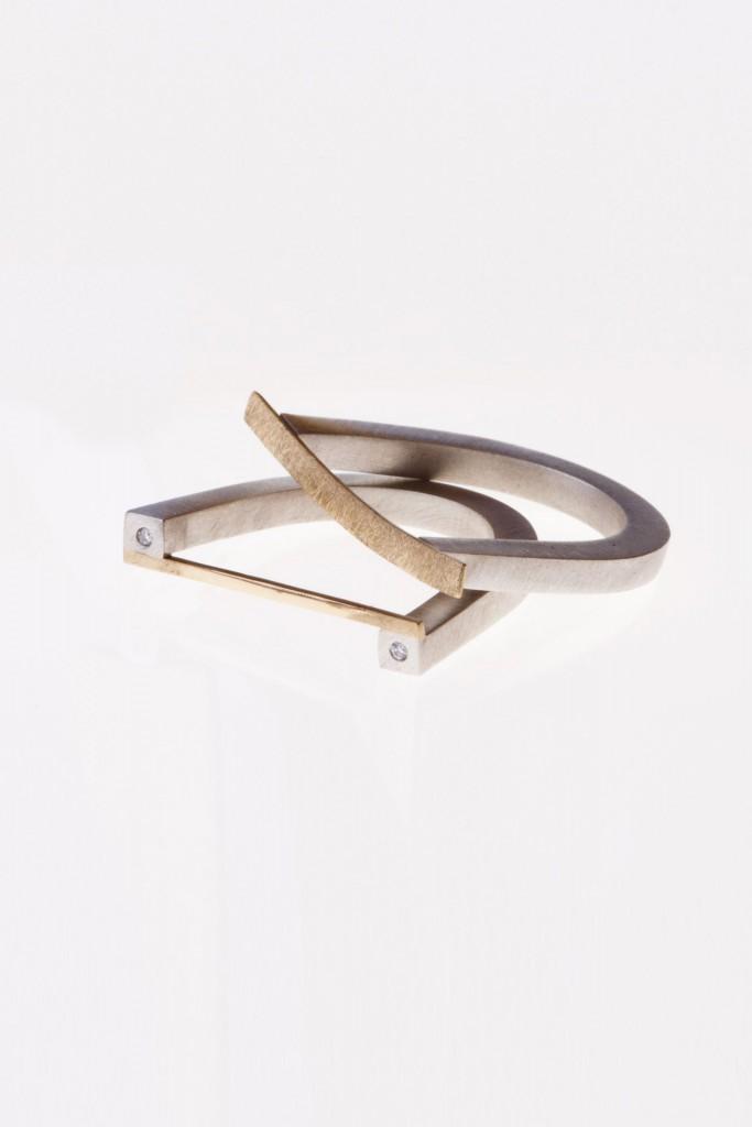 Aines joyas - Colección clásicos renovados - anillos de oro y plata.